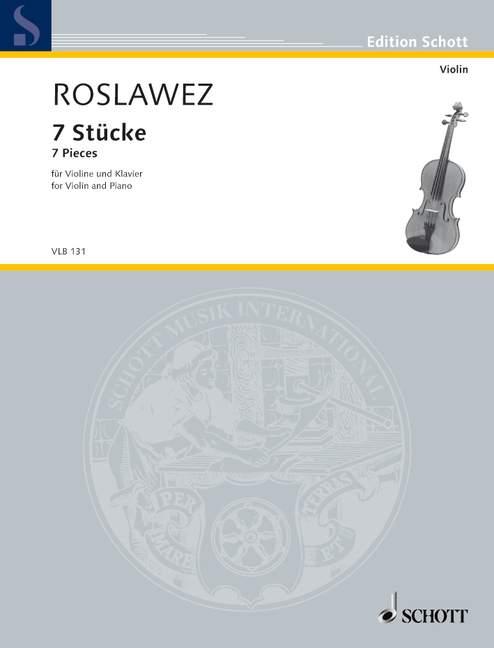 7-Pieces-First-edition-by-Marina-Lobanova-Roslavets-Nikolai-Andreyevich-violi
